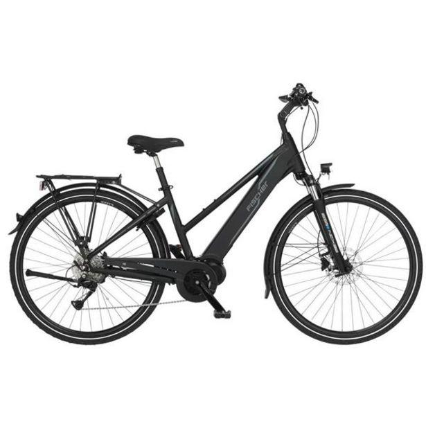 Vélo tout chemin électrique femme Fischer Viator 4.0i noir offre à 1899€