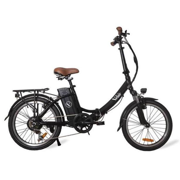 Vélo pliant électrique Urban Velair Noir offre à 1189€