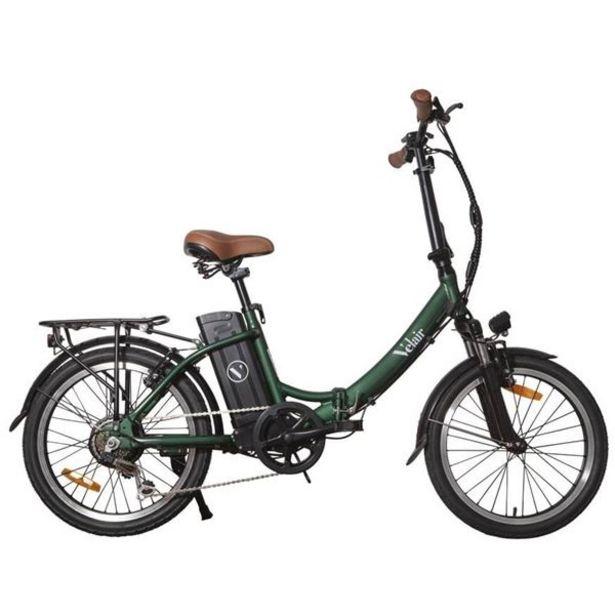Vélo pliant électrique Urban Velair Vert offre à 1189€