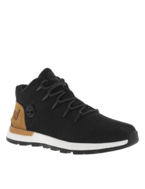 Boots SPRINT TREKKER MID noires en cuir... offre à 139,99€