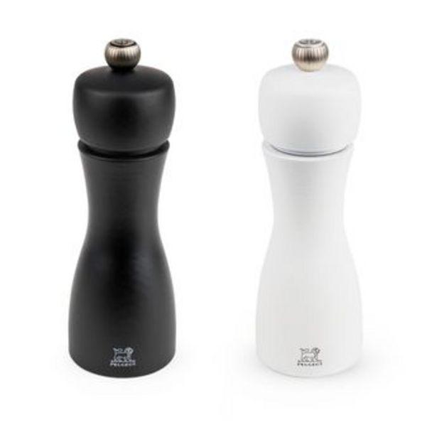 Coffret duo moulins Tahiti sel et poivre - Peugeot offre à 53,99€
