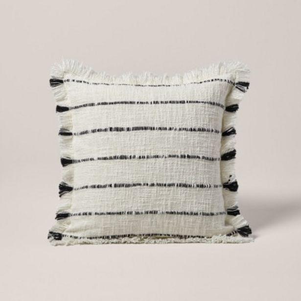 Enveloppe de coussin Taha blanc offre à 29€