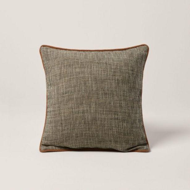 Enveloppe de coussin Lonni blanc offre à 29€