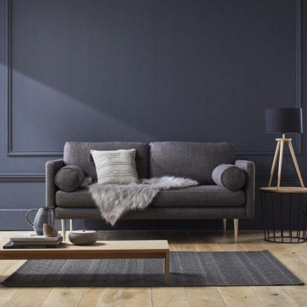 Canapé 3 places Jorel gris offre à 1389€