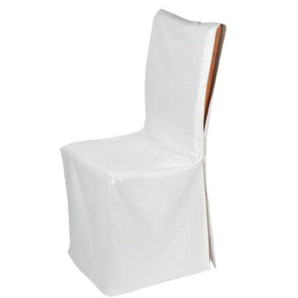 Housse de chaise ajust. Pampa naturel offre à 29€