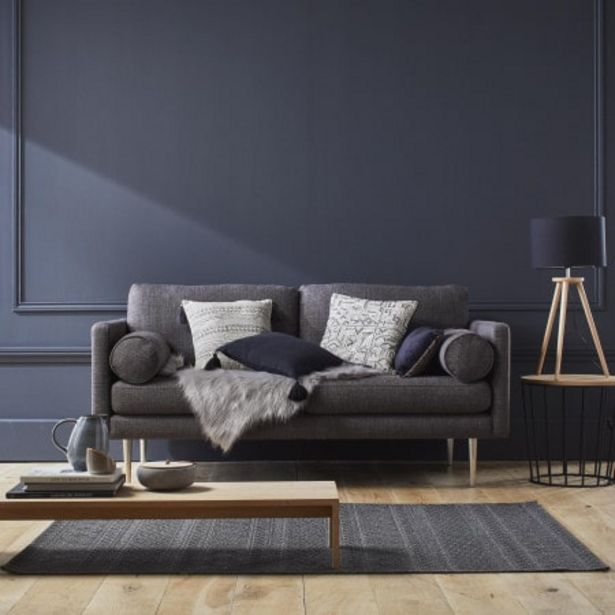 Canapé 2 places Jorel gris offre à 1179€