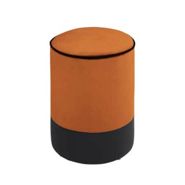 Pouf Enzo orange offre à 99€