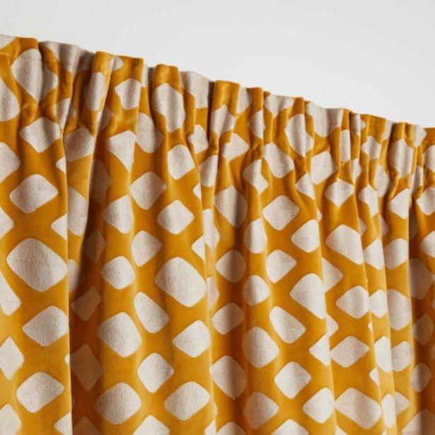 Rideau Flavie orange offre à 229€