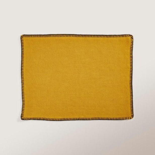 Set de table Nino jaune offre à 15€