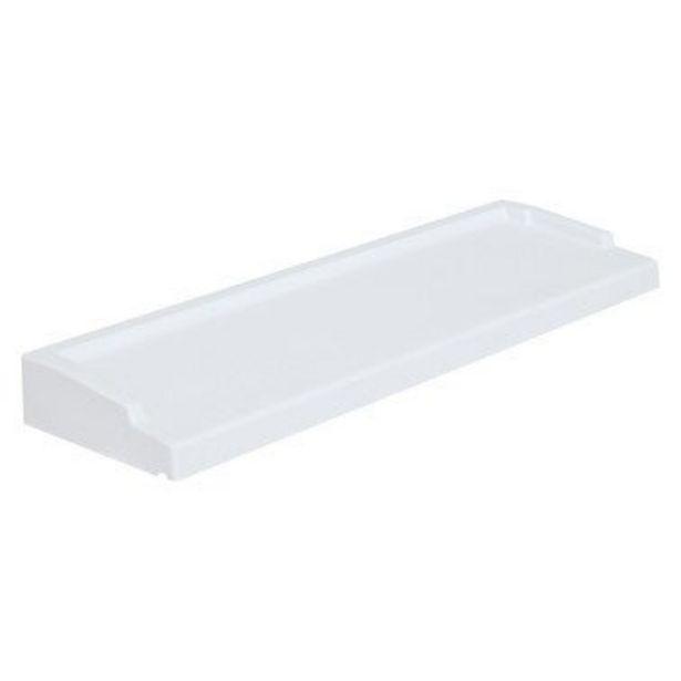 Appui de fenêtre lisse blanc l.34 x L.70 cm - WESER offre à 45€