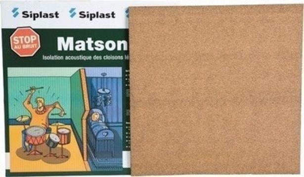 MATSON KIT 1M² 0.5X0.5 M SIPLAST offre à 27,43€