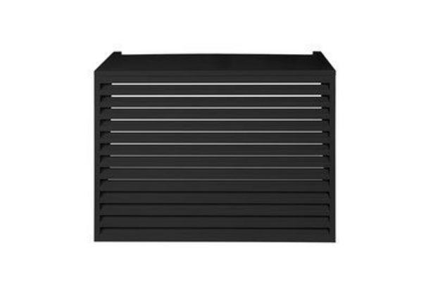 Cache climatiseur extérieur Aluminium Anthracite 120 x 100 cm - DEVAUX offre à 459€