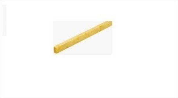 Lambourde sapin traité classe 2 38 x 63 mm Long.3 m offre à 3,45€