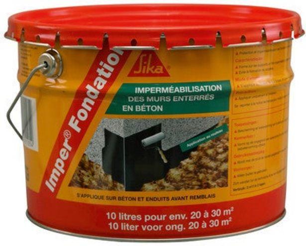 """Protection des fondations """"IMPER FONDATION"""" offre à 57,9€"""