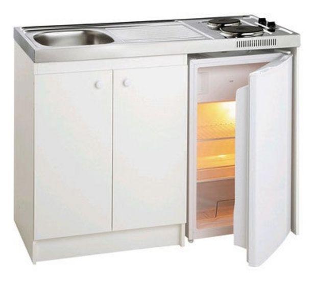 Kitchenette complète + frigo DF111 120 x 60 cm offre à 289€