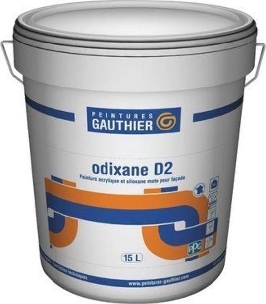 Peinture extérieure façade acrylique et siloxane D2 mat blanc 15 L Odixane - GAUTHIER offre à 154,9€
