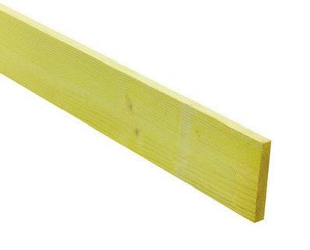 Volige sapin traité classe 2 14 x 105 mm Long.4 m offre à 4,55€