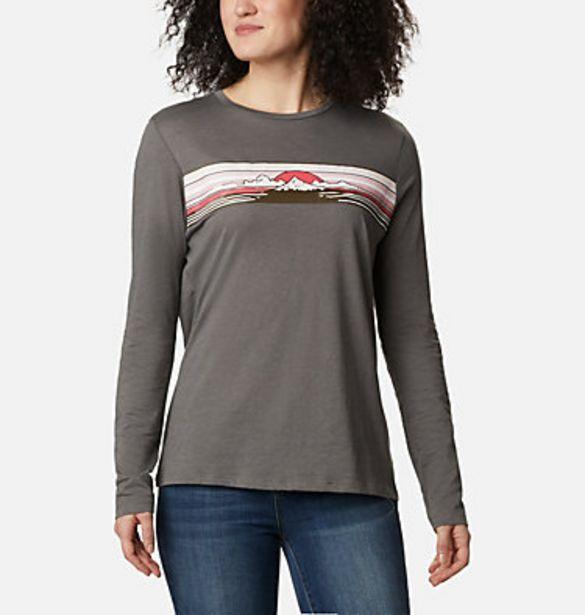 T-shirt manches longues Autumn Trek femme offre à 24,49€