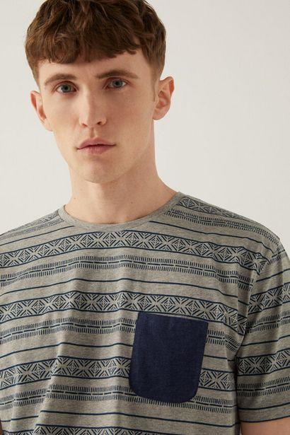 Pyjama court maille imprimé offre à 12,99€