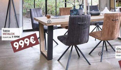 Table Metalox offre à 999€