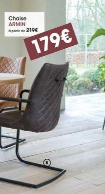 Chaise Armin offre à 179€