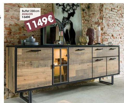 Buffet Avalon  offre à 1149€
