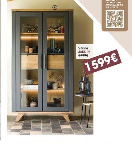 Vitrine jardin offre à 1599€