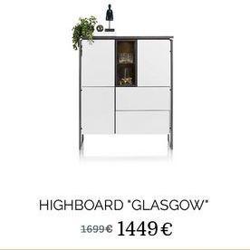 """Highboard """"Glasgow"""" offre à 1449€"""