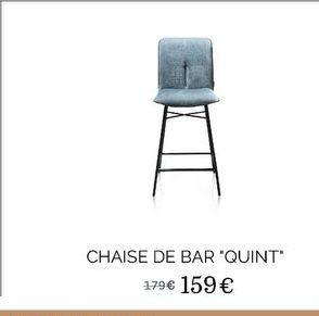 """Chaise de bar """"Quint"""" offre à 159€"""