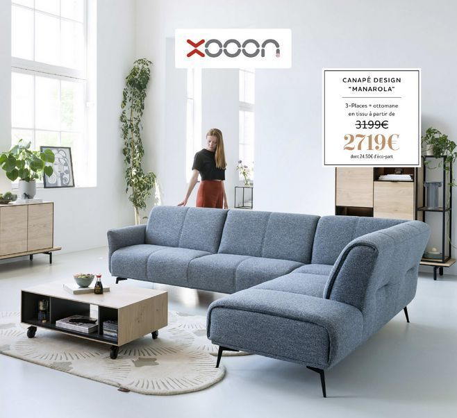 "Canapé design ""Manarola"" offre à 2719€"