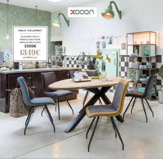 "Table ""Colombo"" offre à 1349€"