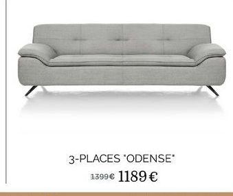"""3-places """"Odense"""" offre à 1189€"""