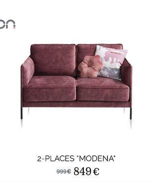 """2-places """"Modena"""" offre à 849€"""
