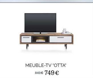 """Meubles-tv """"Otta"""" offre à 749€"""