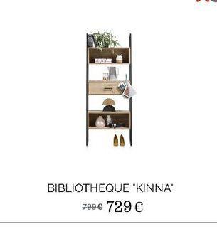 """Bibliothèque """"Kinna"""" offre à 729€"""