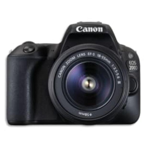CANON Appareil photo reflex EOS 2000D + EF-S 18-55mm 2728C003 photo du produit offre à 459€