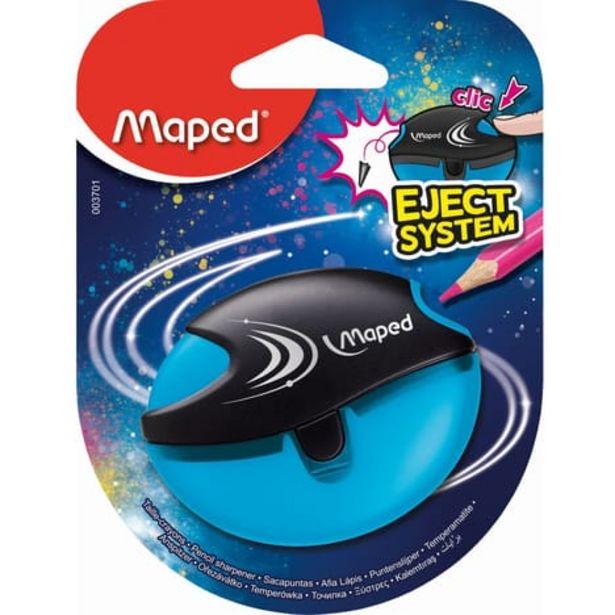 MAPED Taille-crayons avec réservoir Eject System 1 trou Bleu offre à 1,19€