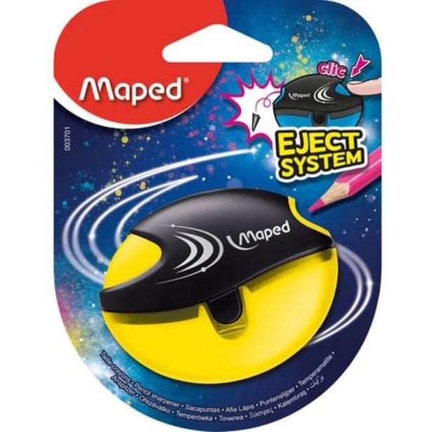 MAPED Taille-crayons avec réservoir Eject System 1 trou Jaune offre à 1,19€