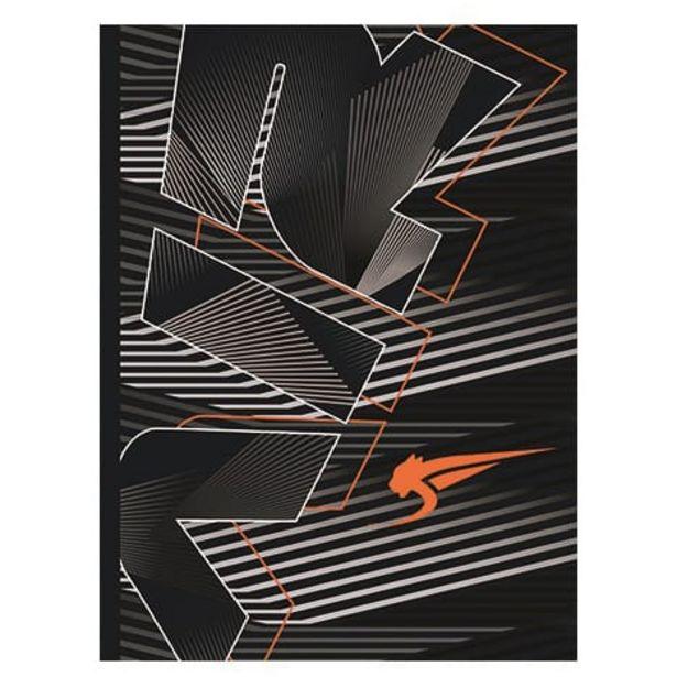 Cahier de texte 16x22 cm Airness noir et orange offre à 5,25€
