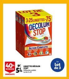 Lingettes decolor stop offre à 5,91€