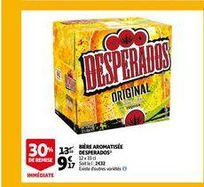 Bière aromatisee desperados offre à 9,17€