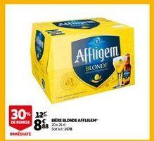 Bière blonde affligen offre à 8,88€