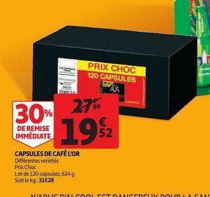 Capsules de café L´Or offre à 19,52€