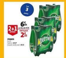 Perrier offre à 6,64€