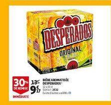 Bière armoatisee desperados offre à 9,17€