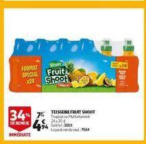 Teisseire fruit shoot offre à 4,94€