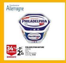 Philadelphia nature offre à 2,63€