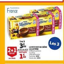 Le petit pot de creme la laitiere offre à 3,06€