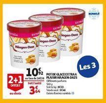 Pot de glace extra a plaisir haagenz-dazs offre à 10,92€