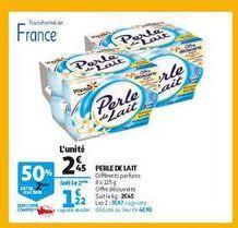 Perse de lait offre à 2,45€
